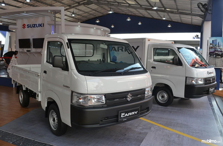 Foto menunjukkan Suzuki Carry Pick Up terbaru tampil di pameran Jakarta Fair Kemayoran 2019
