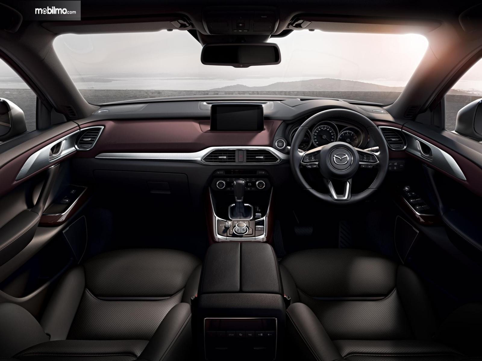 Foto Interior All New Mazda CX-9 yang begitu mewah