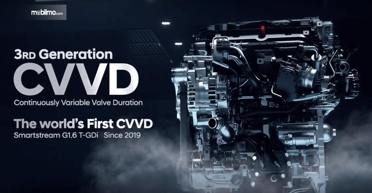 Gambar ini menunjukkan Teknologi terbaru Hyundai untuk kinerja mesin