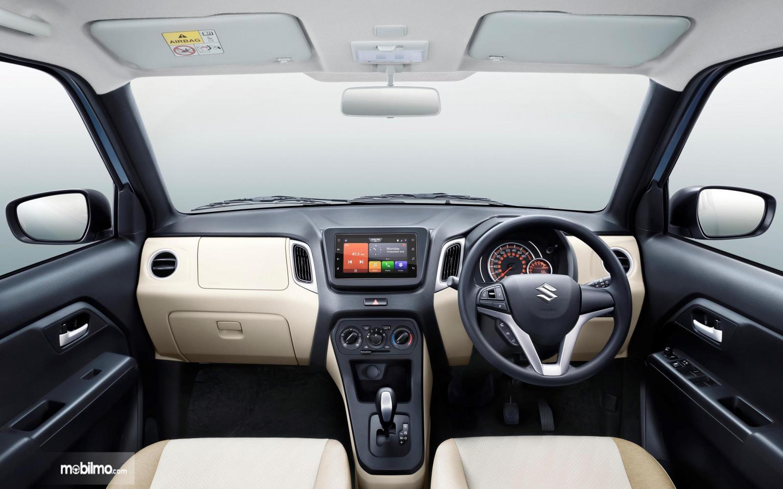 Foto menunjukkan Interior Suzuki Wagon R 2019 yang nampak lebih mewah