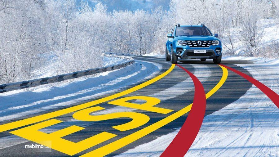 Gambaran Fitur Electronic Stability Program pada Renault Duster 2019