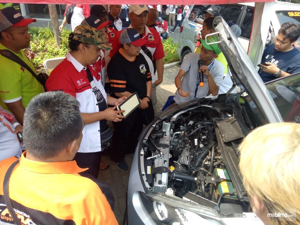 Kegiatan sharing TOSCA fokus kepada mesin mobil
