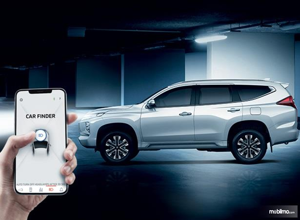 Fitur Hiburan Mitsubishi Pajero Sport 2020 sudah dilengkapi teknologi baru yakni Mitsubishi Remote Control