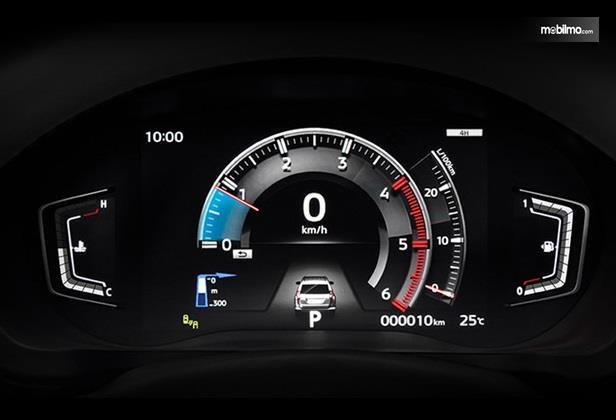 Setir Mitsubishi Pajero Sport 2020 sudah dilengkapi dengan panel MID berdesain baru