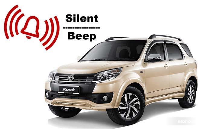 Toyota Rush mode silent