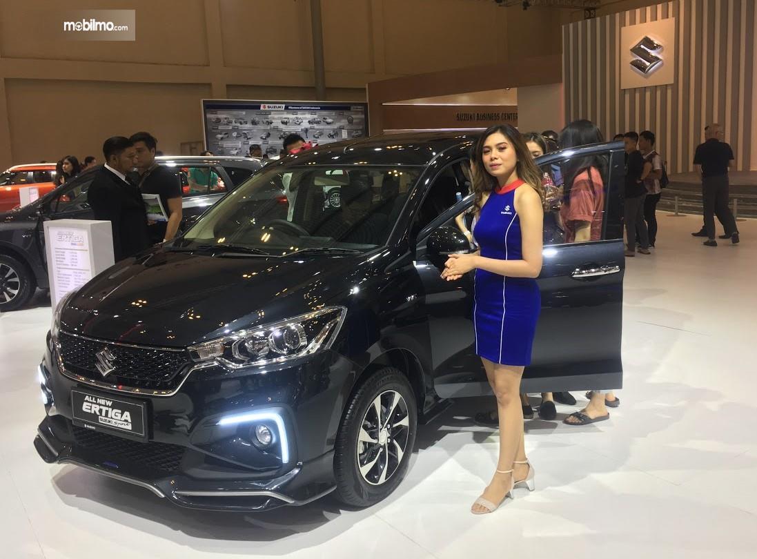 Foto Suzuki Ertiga Sport di pameran GIIAS 2019