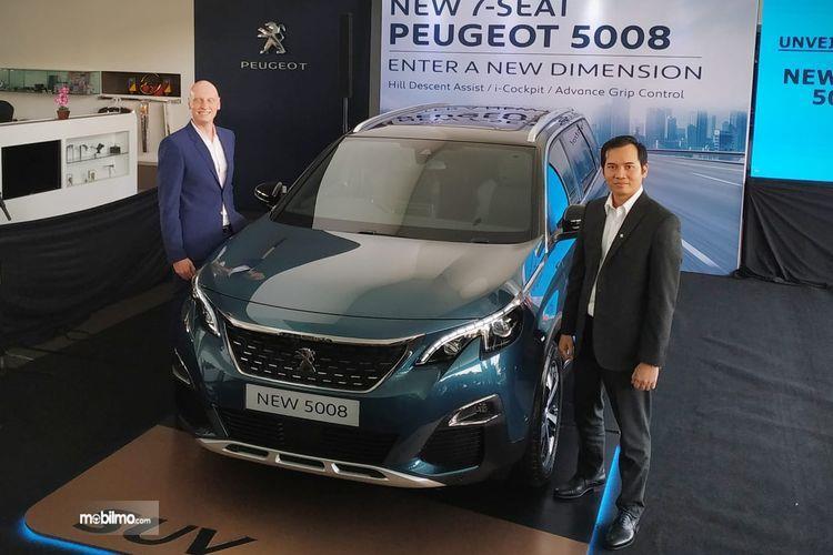Foto peluncuran New Peugeot 5008 model 2019 di Jakarta