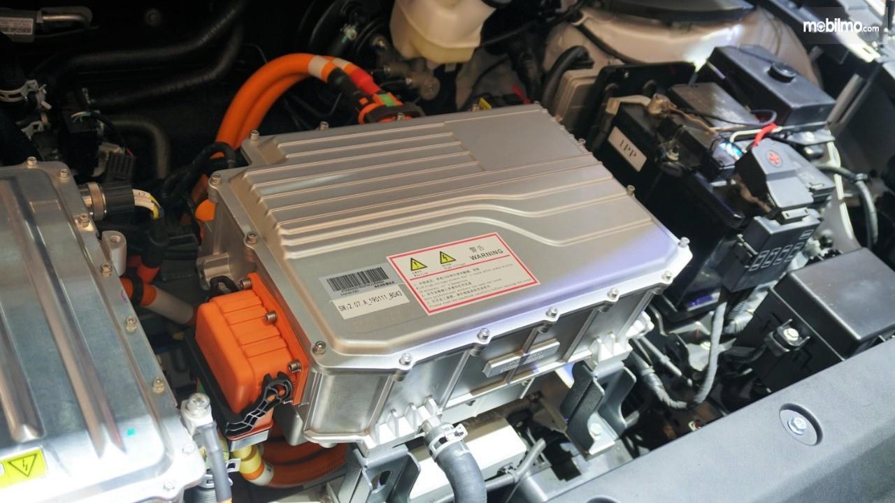 Foto Baterai pada mobil listrik DFSK Glory E3