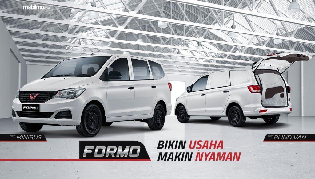 Banner Wuling Formo - mobil niaga komesial dari Wuling Motors