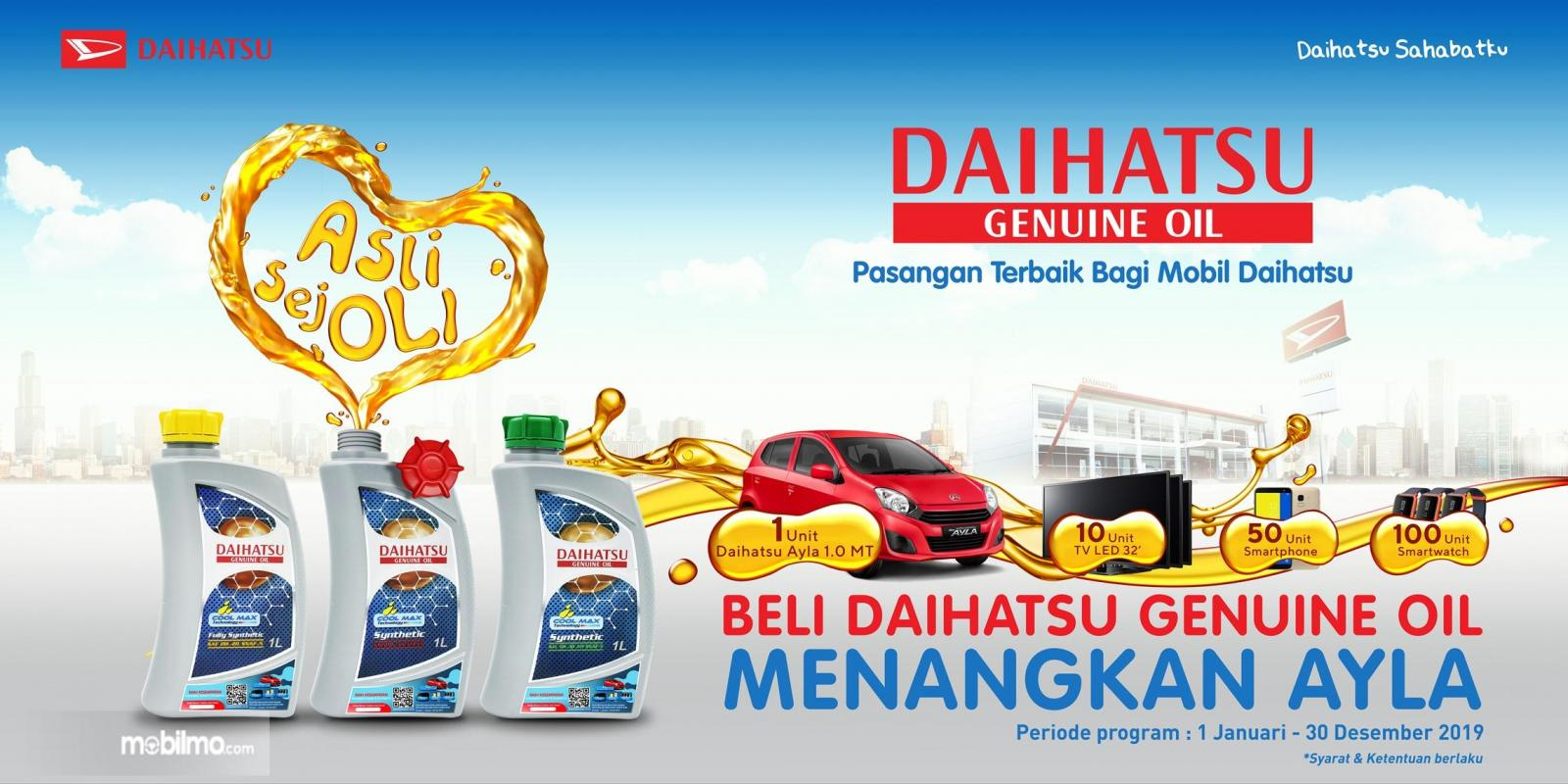Program Daihatsu Part Bazaar Hadiah Online