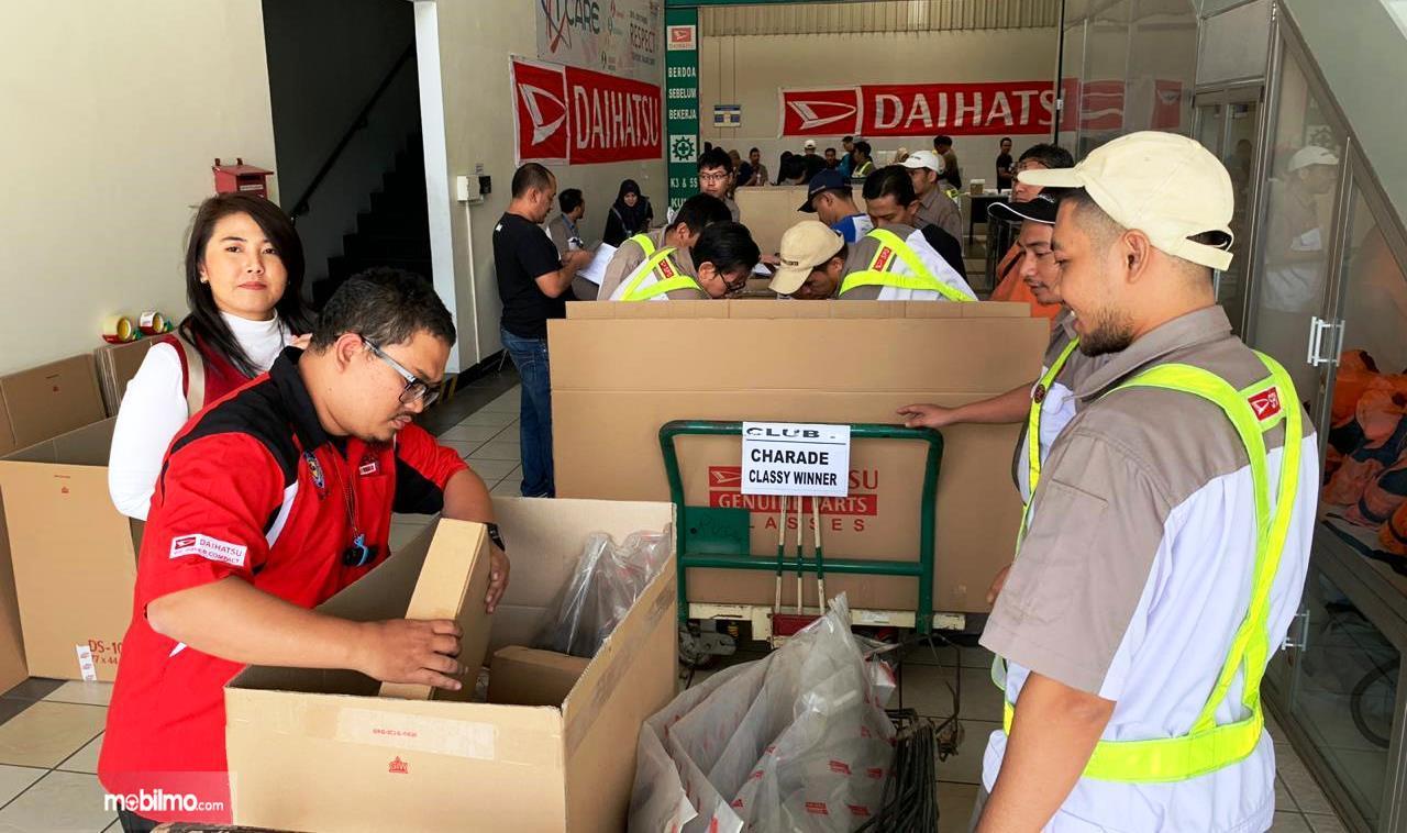 Program Daihatsu Part Bazaar Komunitas