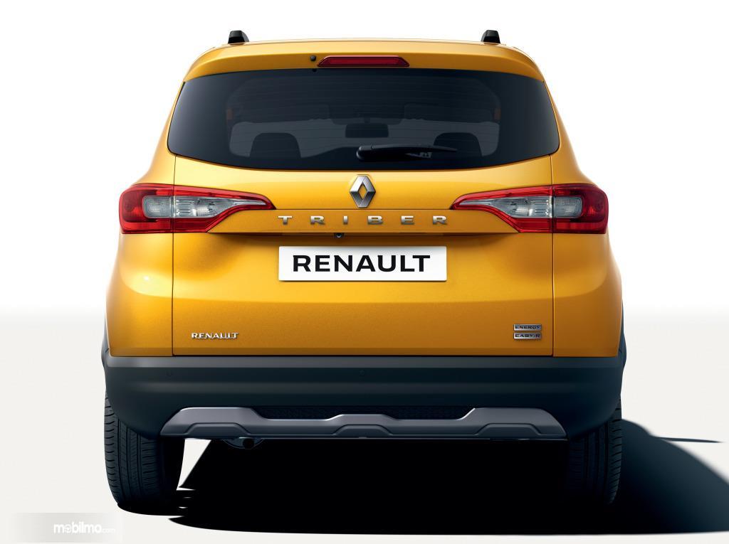 Foto bagian belakang Renault Triber 2019