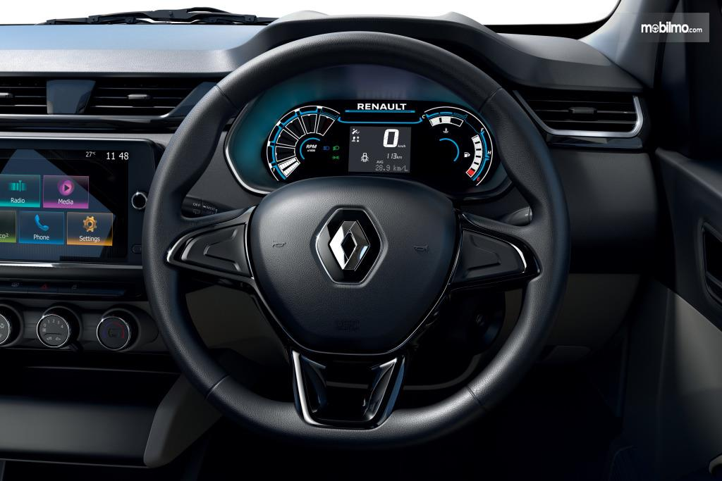 Foto menunjukkan Setir Renault Triber 2019