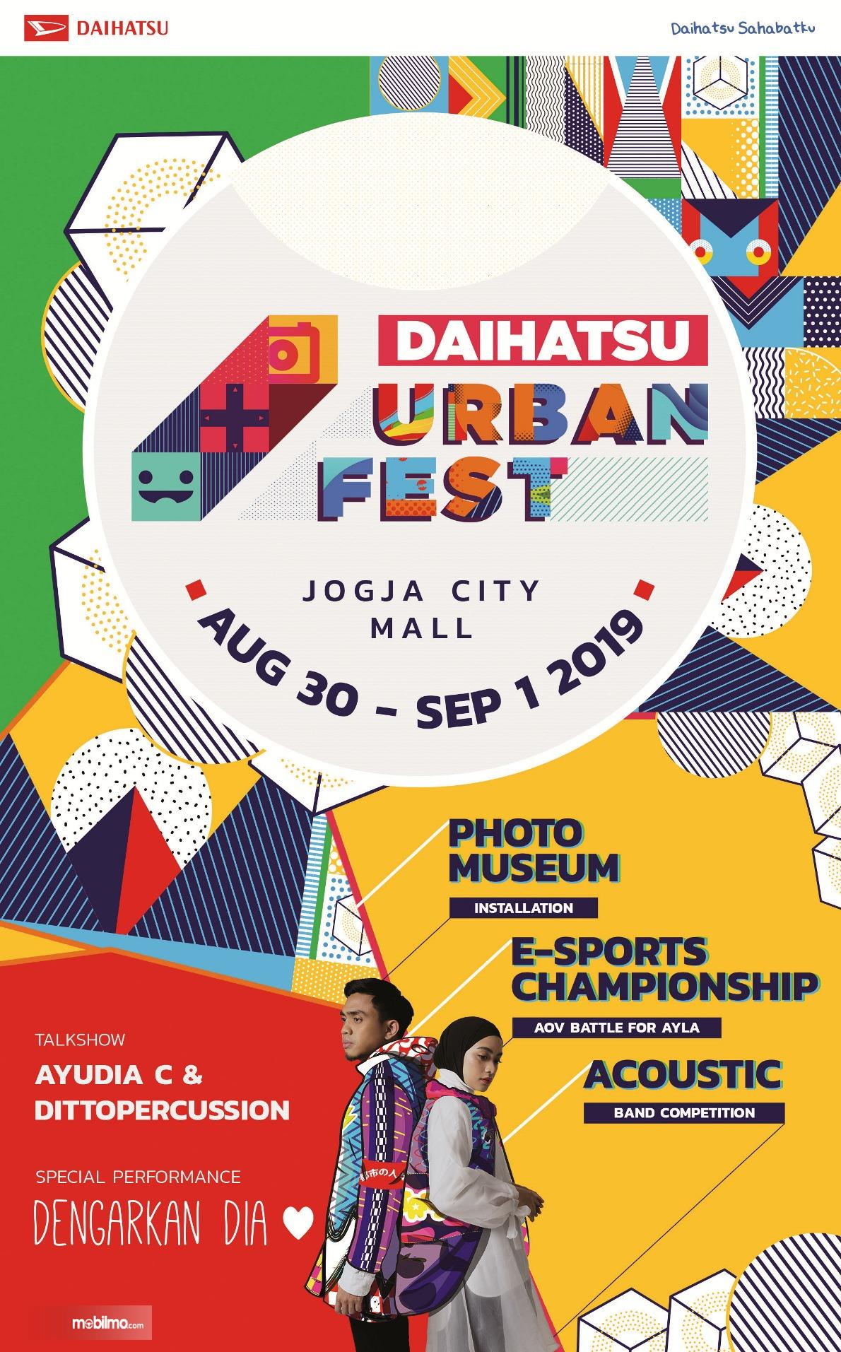 Gambar menunjukkan manner urban fest Daihatsu