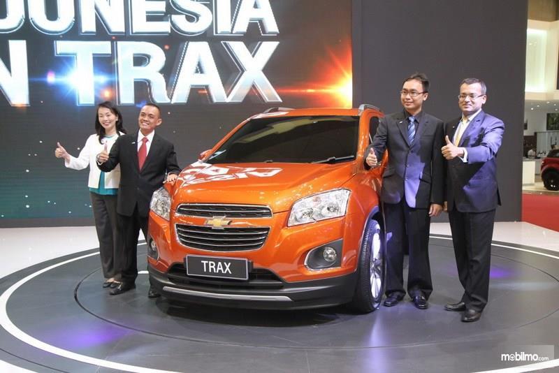 Chevrolet Trax 2015 diluncurkan di acara GIIAS, menerima banyak respon positif dari masyarakat