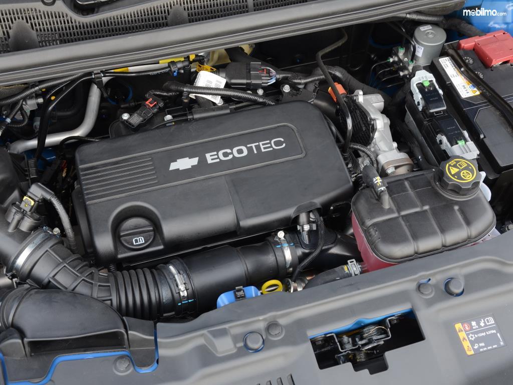 Mesin Chevrolet Trax 2015 mampu menyemburkan daya hingga 140 PS