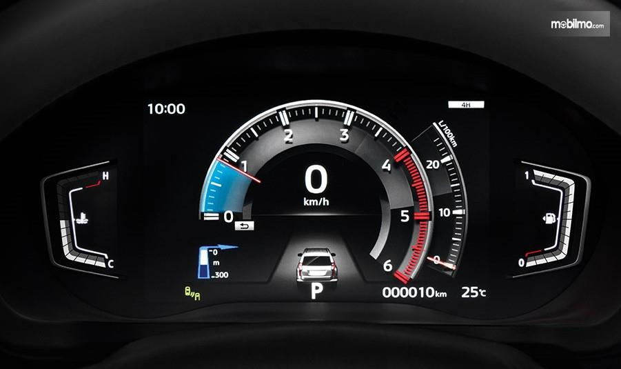 Foto Cluster meter Mitsubishi Pajero Sport GT-Premium, lebih modern