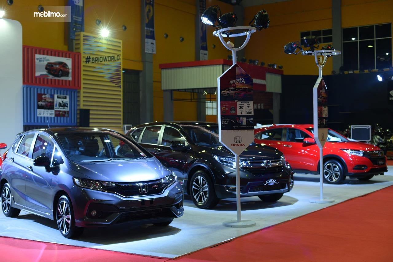Foto Booth Honda di pameran GIIAS 2019 Makassar