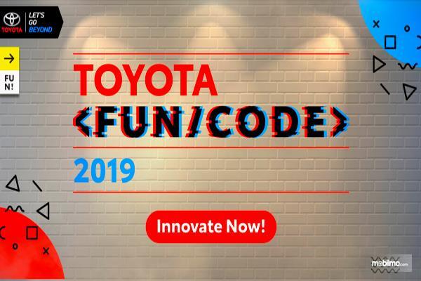 Gambar ini menunjukkan brosur program Toyota Fun/Vode