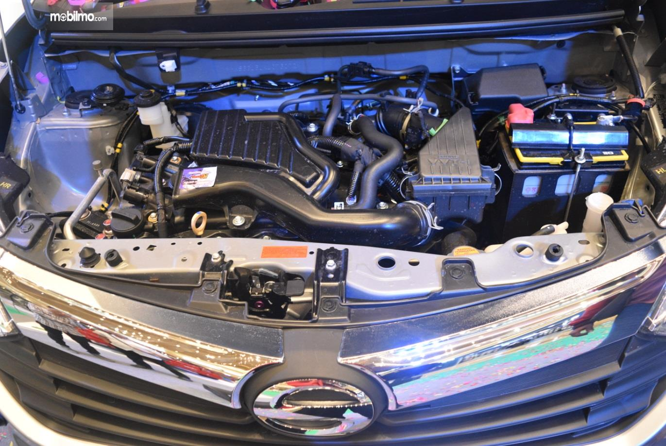 Mesin Daihatsu Sigra 2019 menggunakan kapasitas 1.197 cc khususnya pada tipe R dan X saja