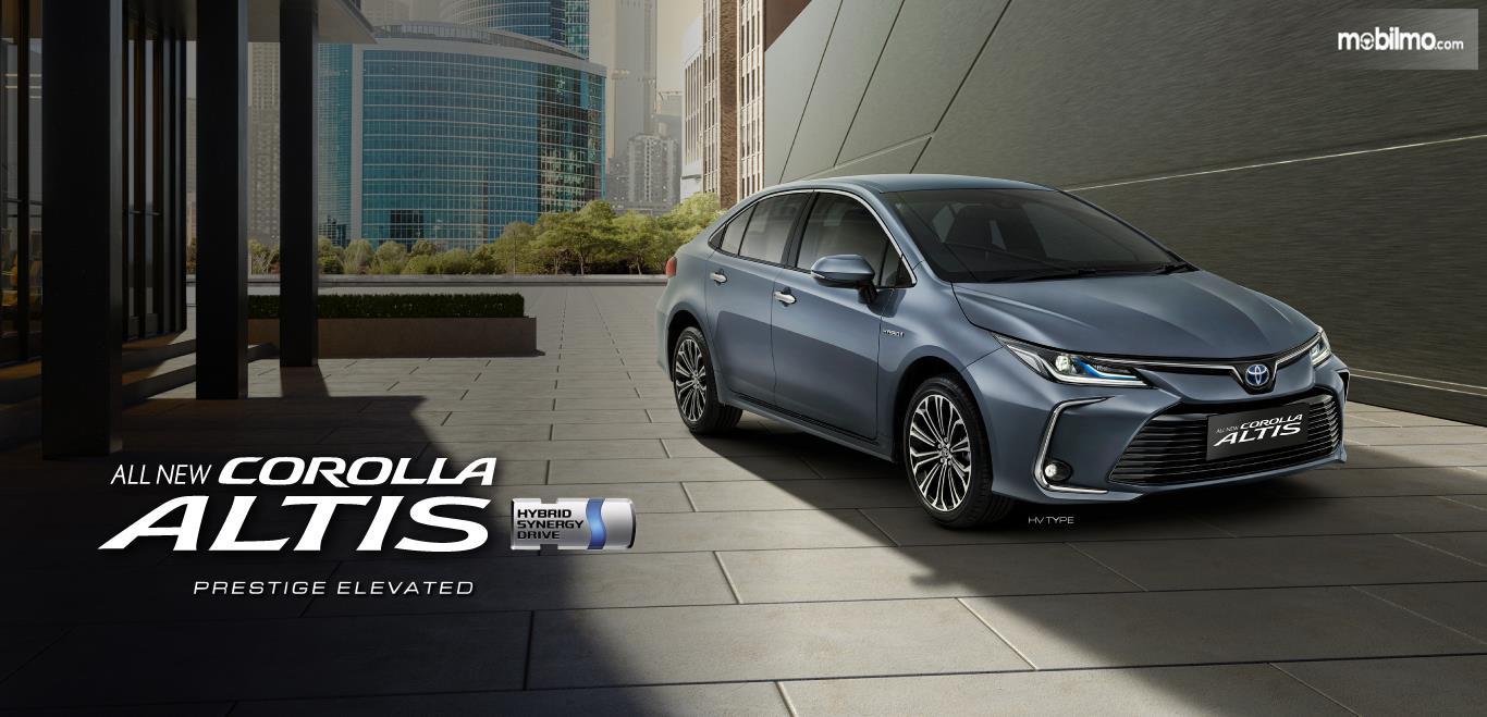 Foto menunjukkan All New Corolla Altis resmi dijual di Indonesia