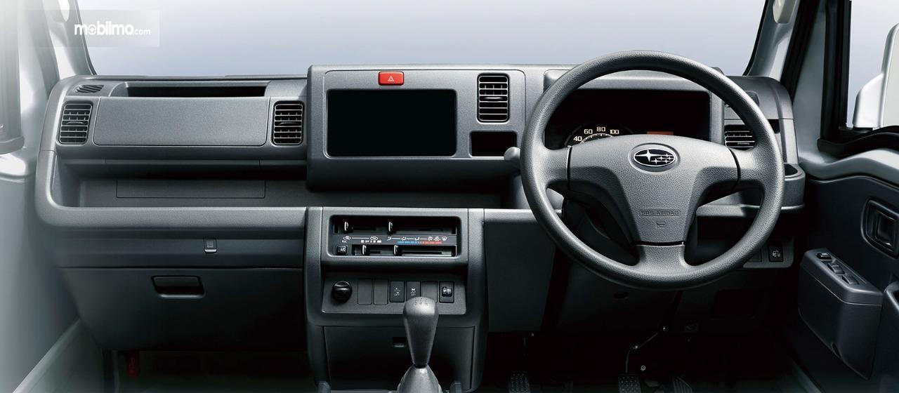 Gambar menunjukkan Layout dasbor Subaru Sambar Truck 2019