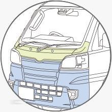 Gambar menunjukkan Pedestrian Safety Subaru Sambar Truck 2019