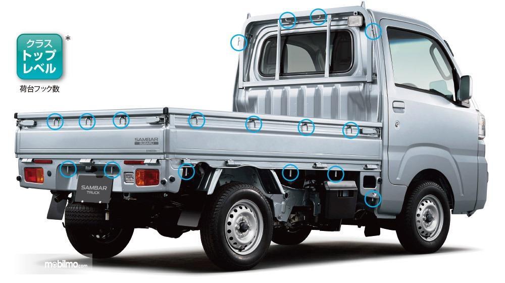 Gambar menunjukkan Tampilan belakang Subaru Sambar Truck 2019