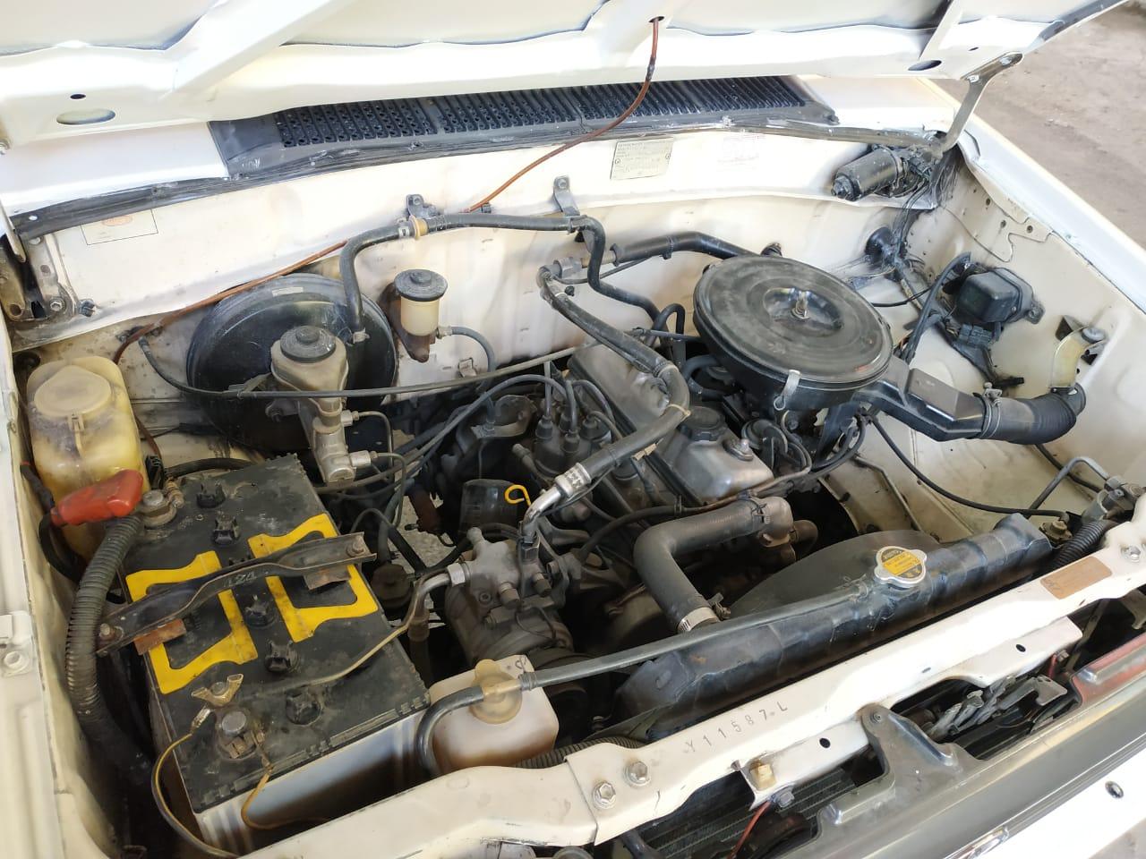 Gambar menunjukkan Mesin Toyota Kijang 5K Kijang Super 1995
