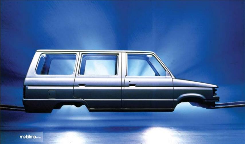 Gambar menunjukkan Bodi Toyota Kijang Full Pressed Body