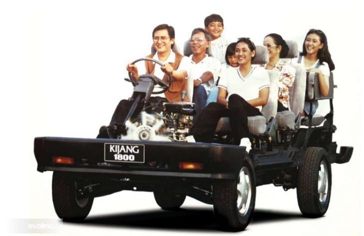 Gambar menunjukkan Toyota Kijang Untuk Semua