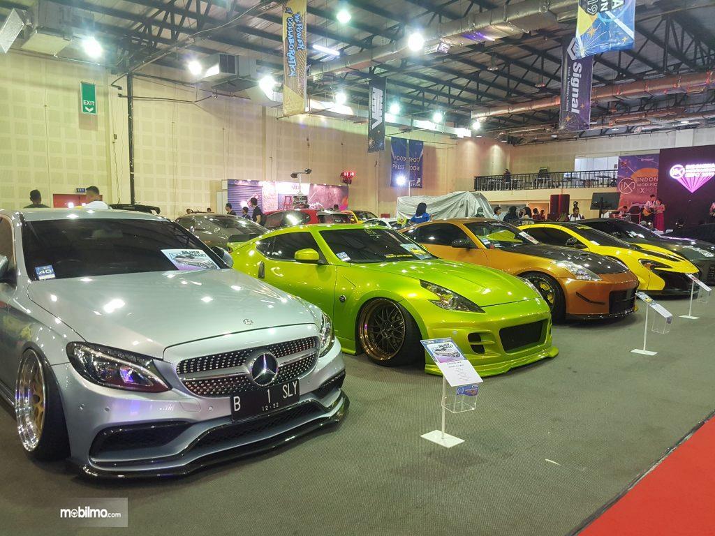 Deretan mobil hasil modifikasi dipamerkan di IMX 2019