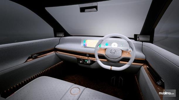 Dashboard Nissan IMk Concept 2019 punya layar Holographic yang siap menghibur perjalanan Anda