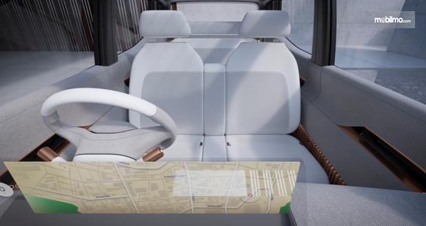 Kursi Nissan IMk Concept 2019 diklaim sangat nyaman, mirip kursi-kursi Cafe
