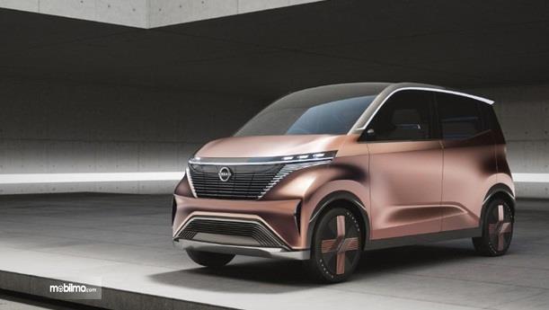Nissan IMk Concept 2019 hadir dalam tahap perkenalan teknologi saja, belum ke arah pemasaran massal