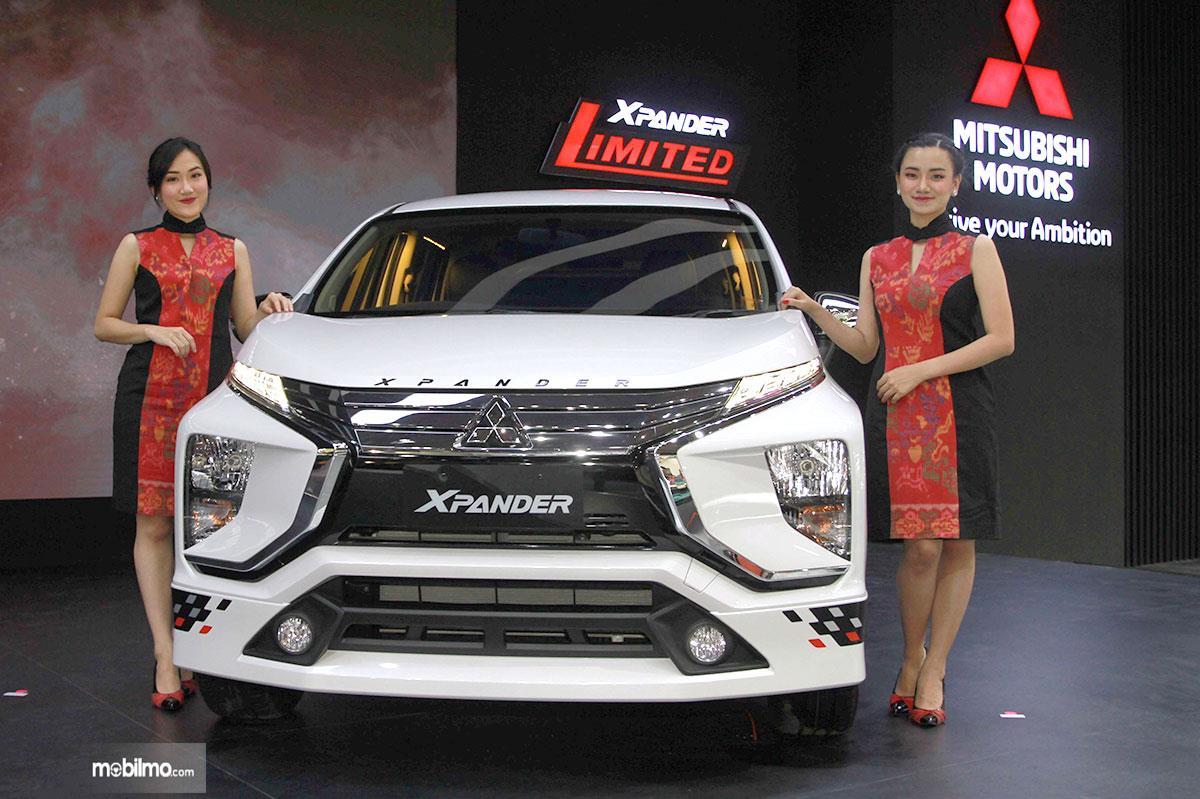 Foto Mitsubishi Xpander Limited AT 2019 tampak dari depan