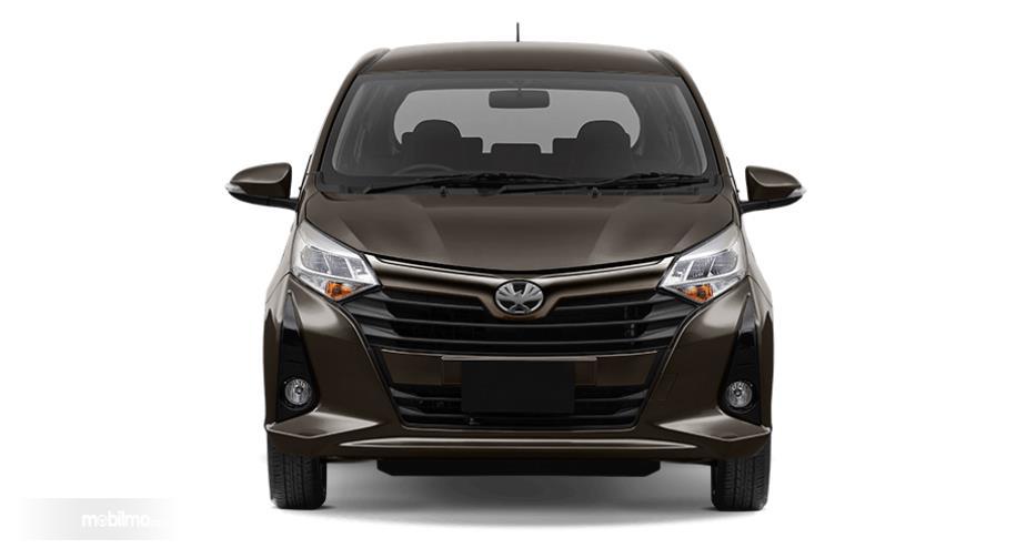 Foto bagian depan Toyota Calya G AT 2019
