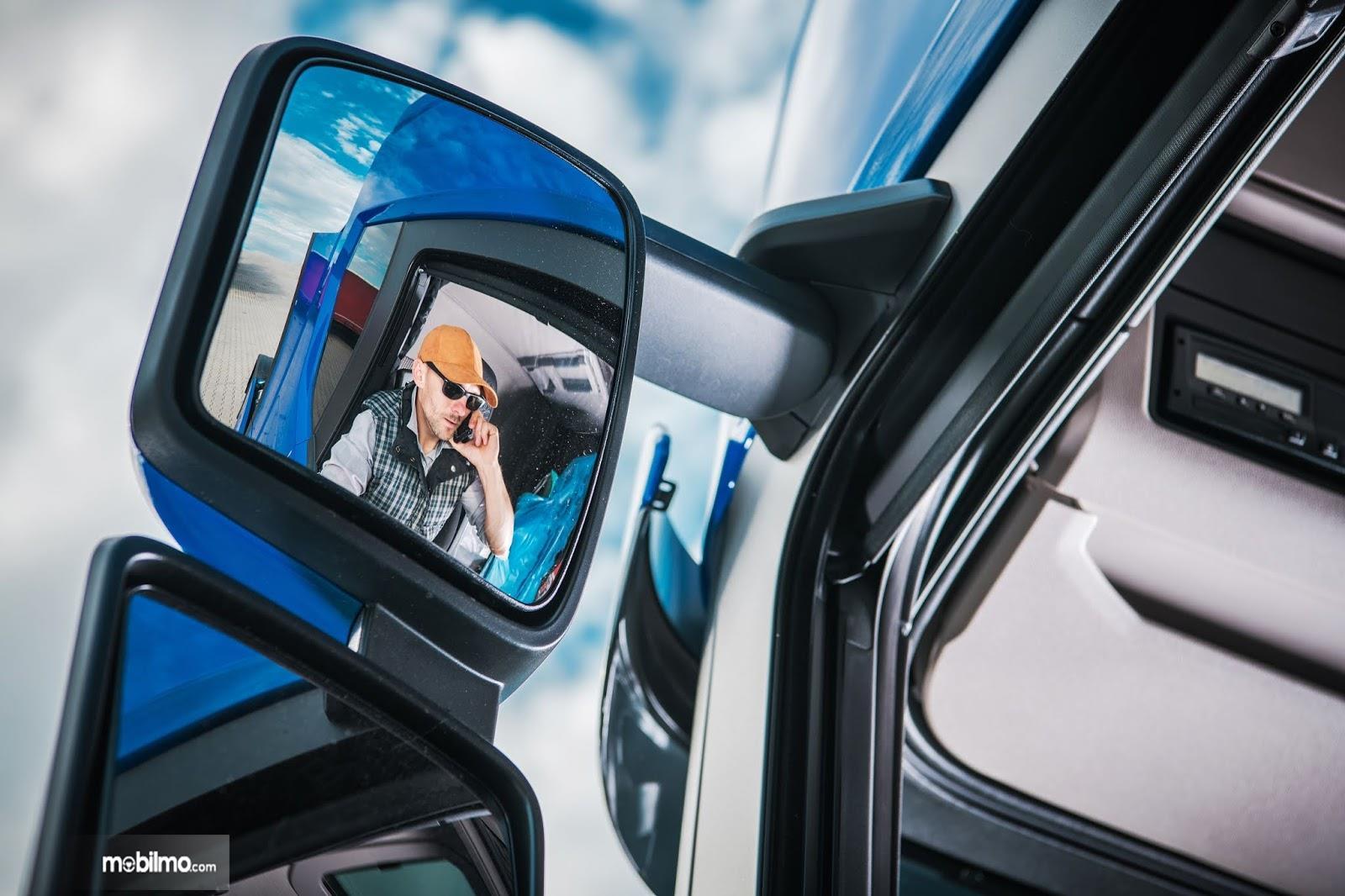 Area blind sport, pengemudi tidak melihat apapun