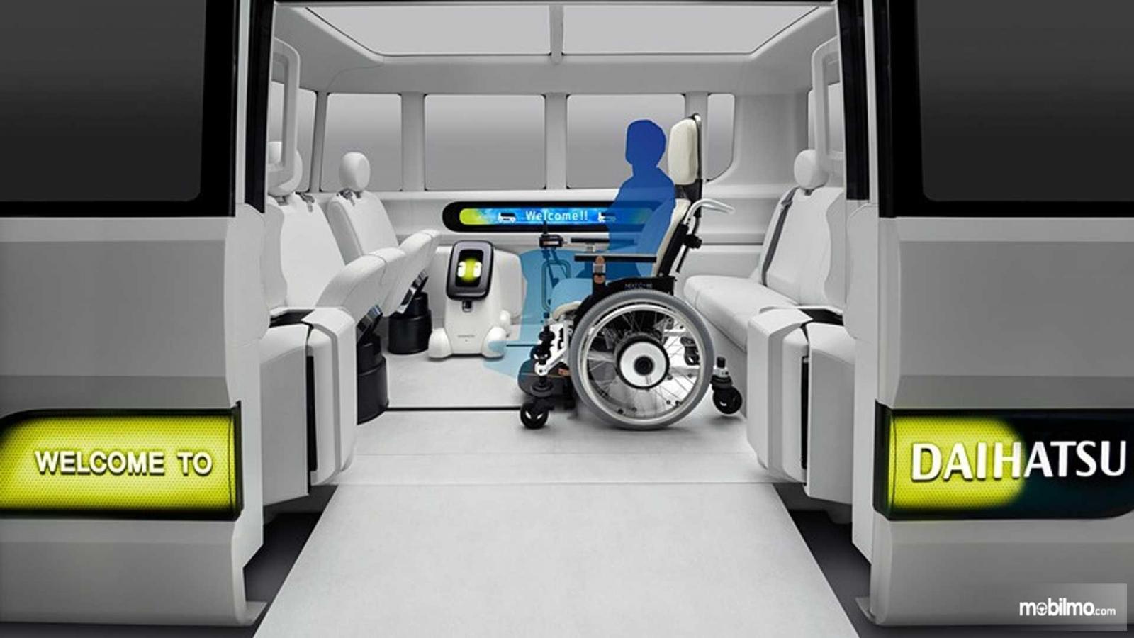 Foto Interior Daihatsu Ico-Ico