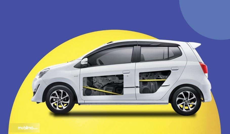 Foto Fitur keselamatan Jok Toyota Agya 1.0 G M/T Facelift 2017 - Side Impact Beam