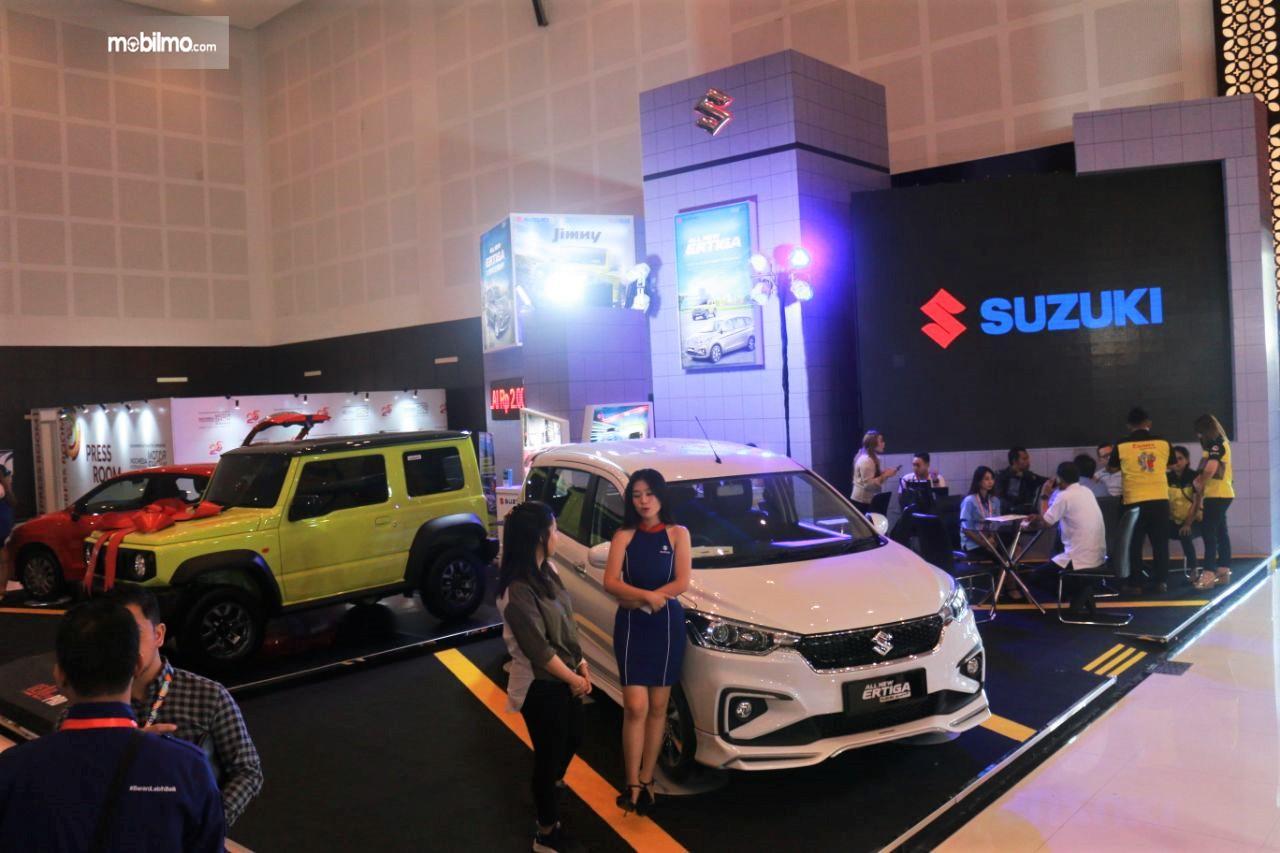 Foto Booth Suzuki di IIMS Surabaya 2019