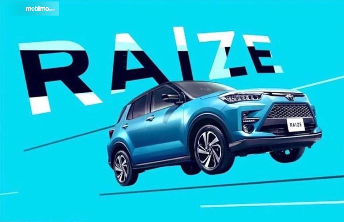 Gambar Toyota Raize yang beredar di sosial media