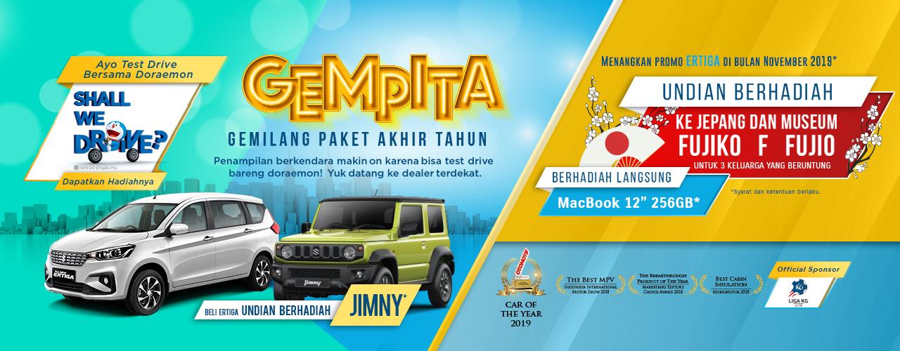 Banner Promo GEMPITA Suzuki 2019