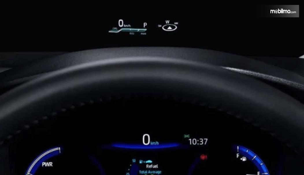 Gambar ini menunjukkan salah satu fitur pada All New Toyota Corolla Altis