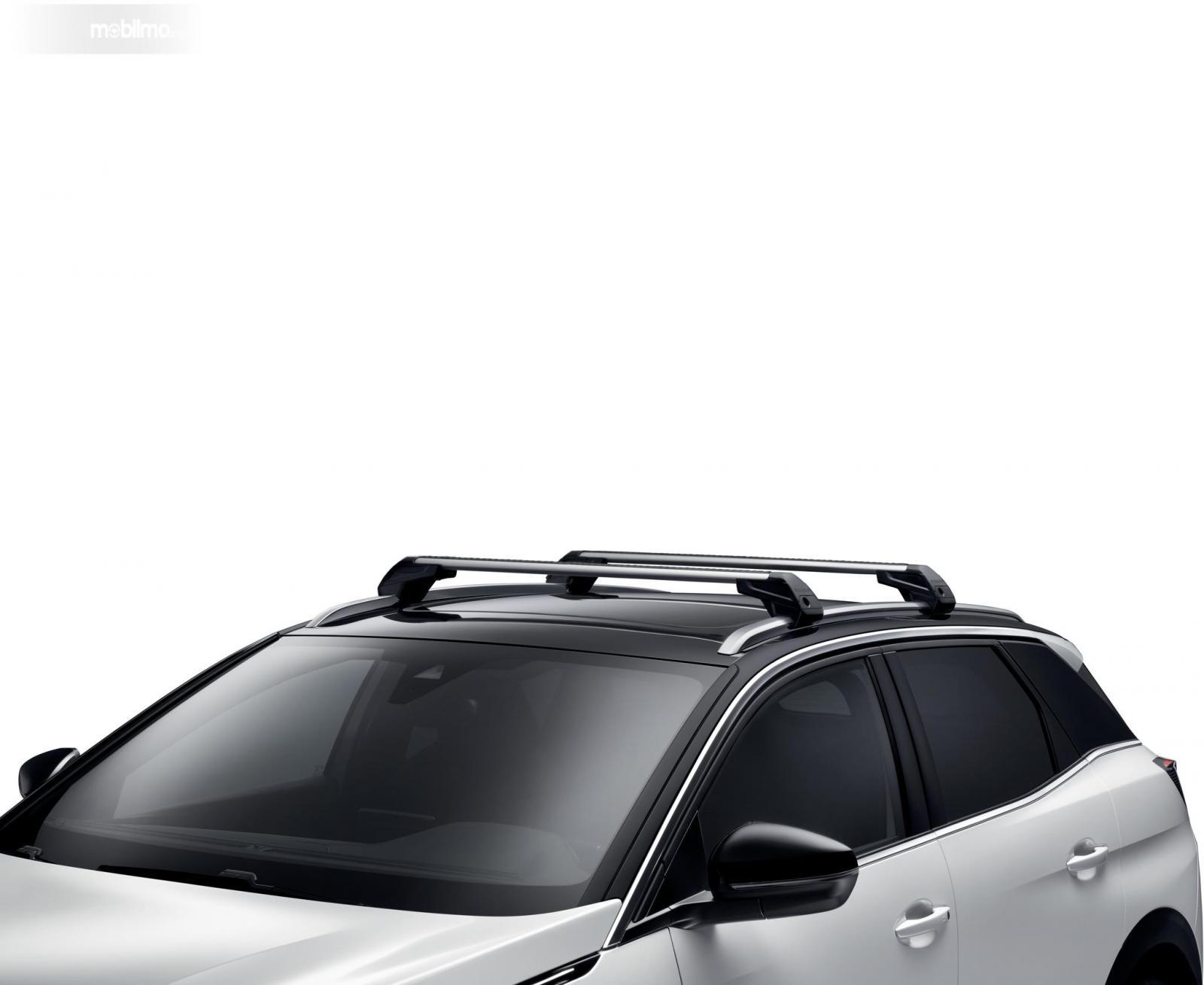 Roof Bar digunakan pada Peugeot 3008