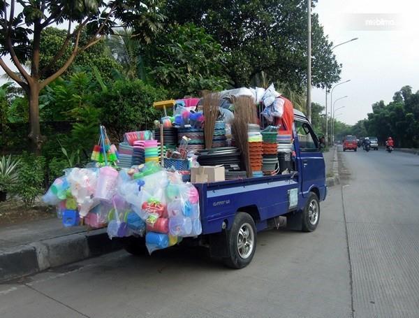Foto mobil pick up jual perabotan keliling