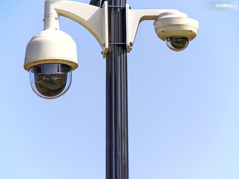 Gambar Smart CCTV atau kamera pemantau