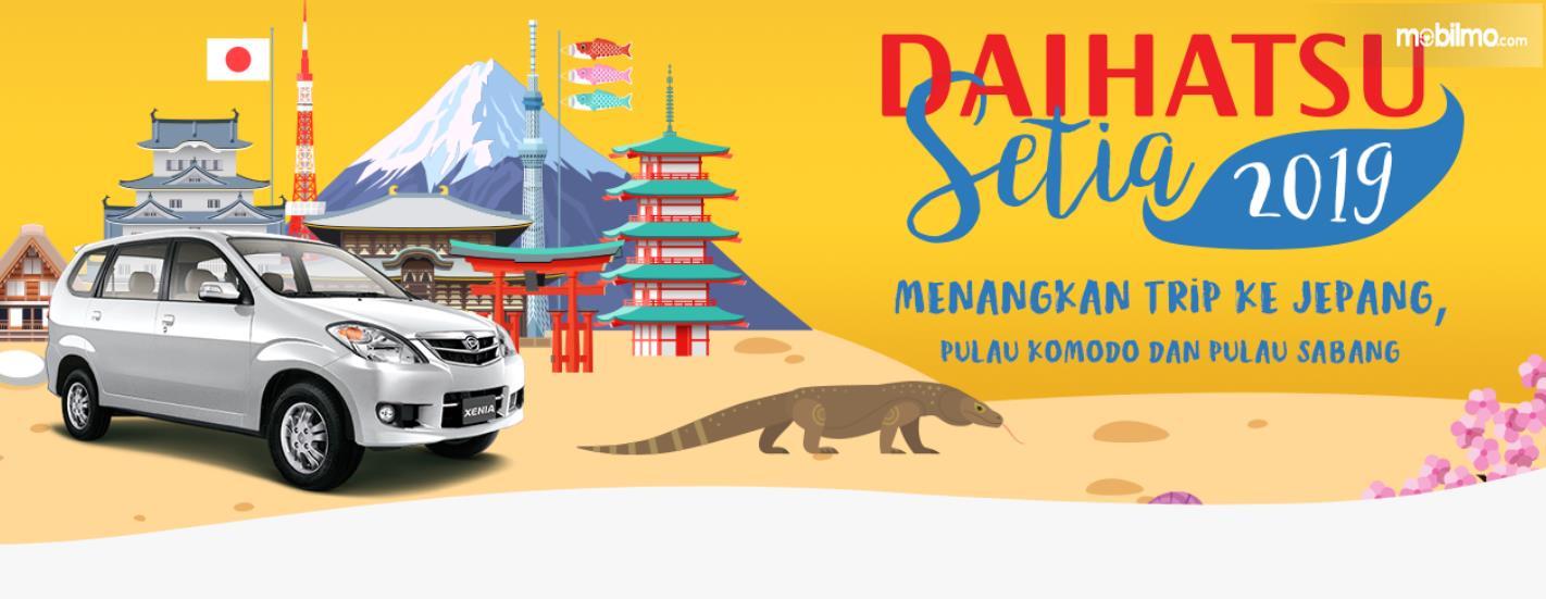 Gambar ini menunjukkan brosur program Daihatsu Ceria