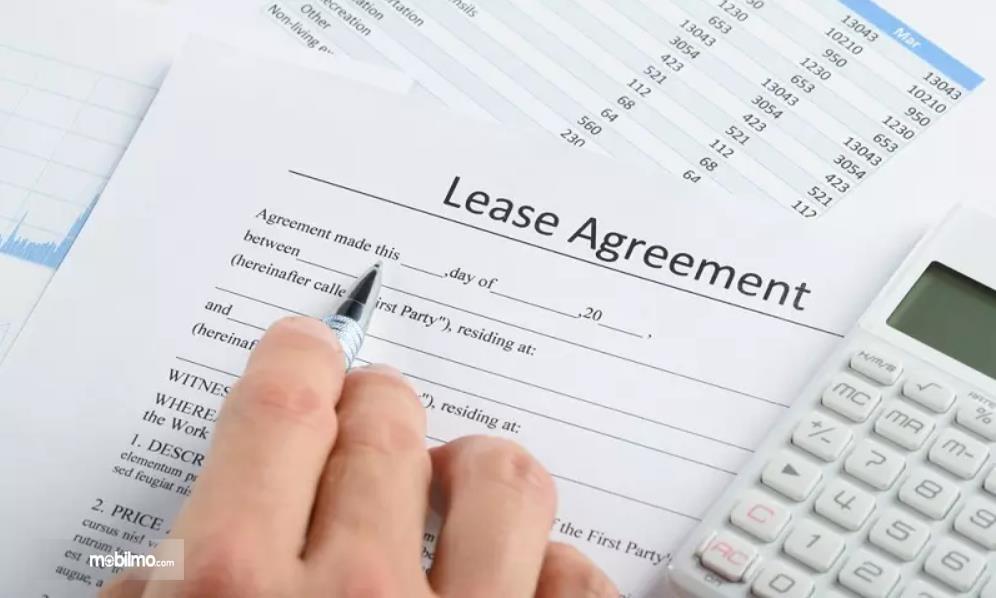 Gambar ilustrasi persetujuan dari pihak leasing