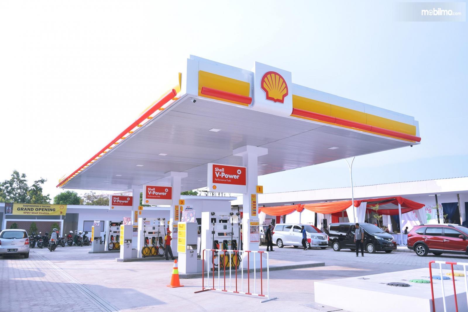 Foto lokasi SPBU Shell di Cirebon